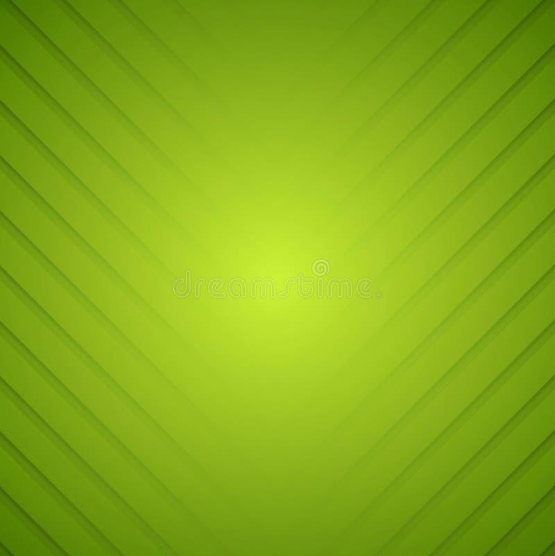 Randig vektorbakgrund för abstrakt gräsplan royaltyfri illustrationer