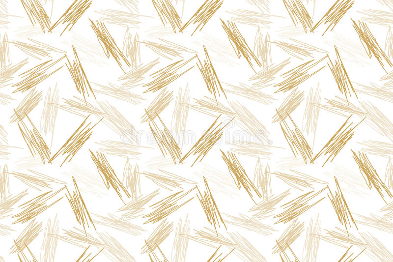 Random Brown Scratches Seamless Background vector illustration