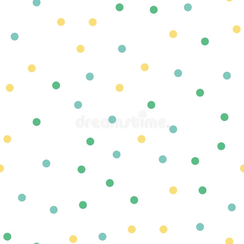 Random dots pattern, abstract shapes background. Geometrical simple illustration vector illustration