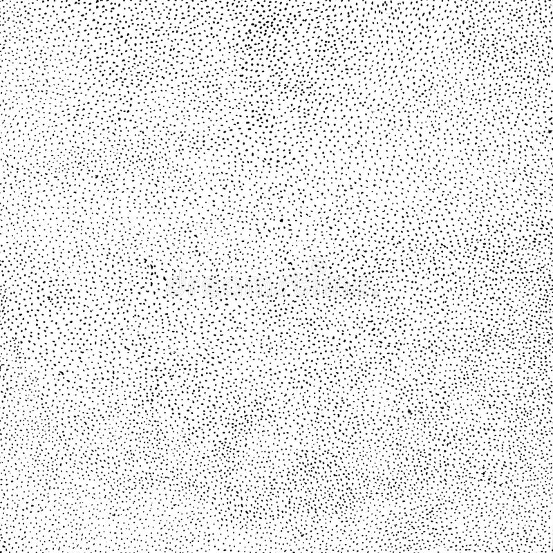 Random halftone. Pointillism style. Background with irregular, chaotic dots, points, circle. royalty free illustration