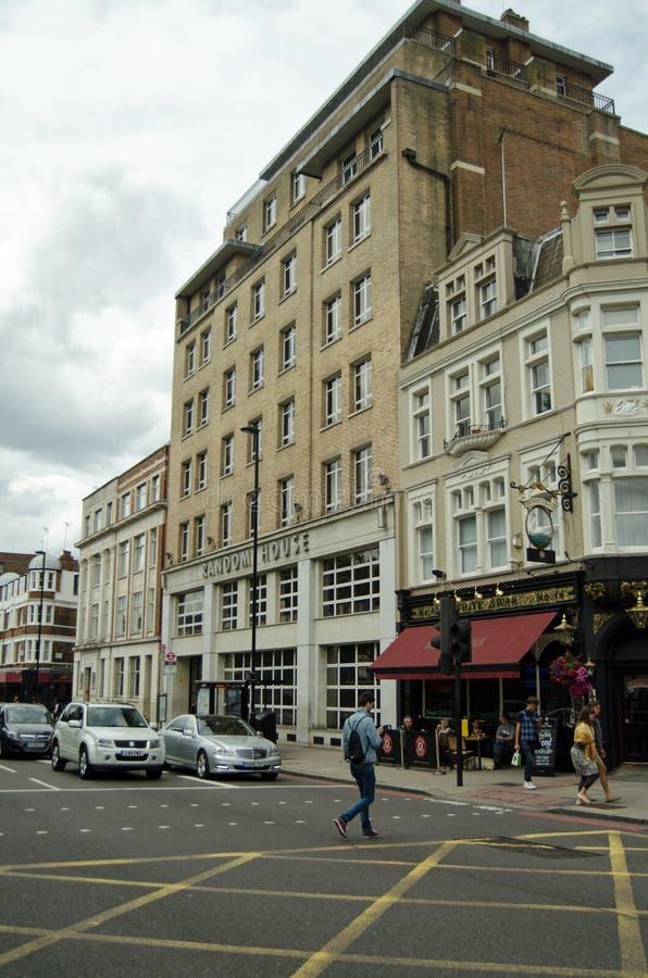 Random House que publica QG, Londres imagens de stock