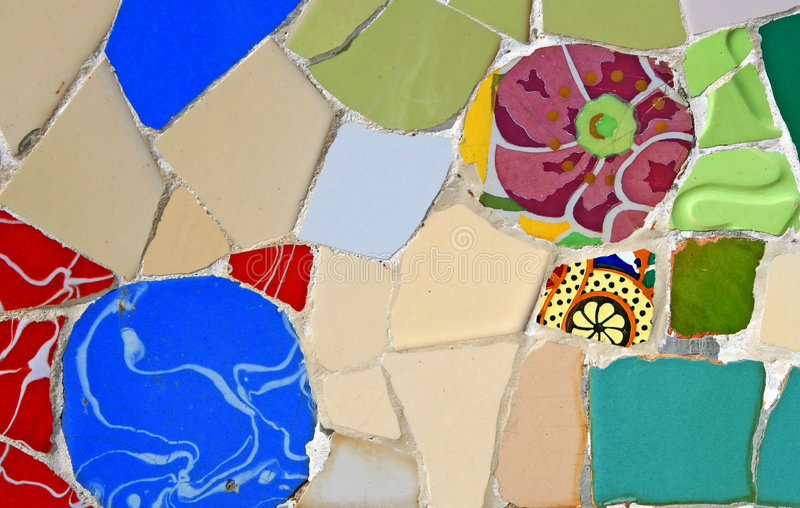 Download Random Mosaic Pattern stock image. Image of design, picture - 1032693