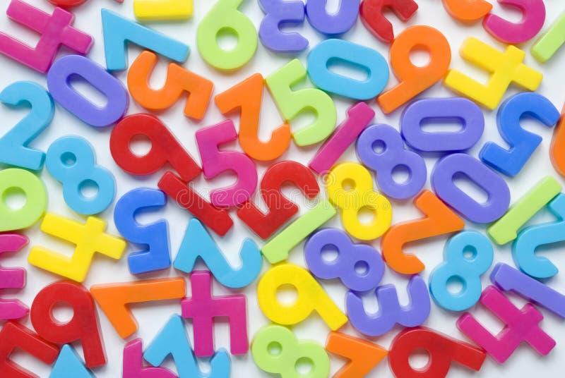 Random numbers royalty-vrije stock afbeelding