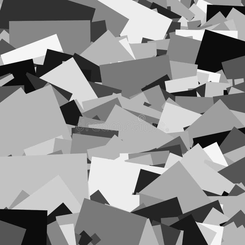 Download Random Shards Splinters Abstract Artistic Background Pattern Stock Vector
