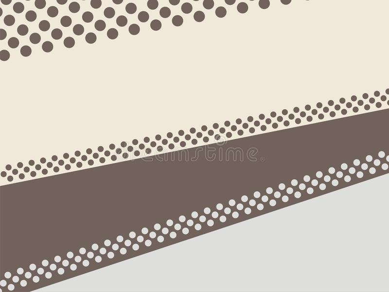The random wallpaper 1 off. The random wallaper in the color cream and brown combine calm color stock illustration