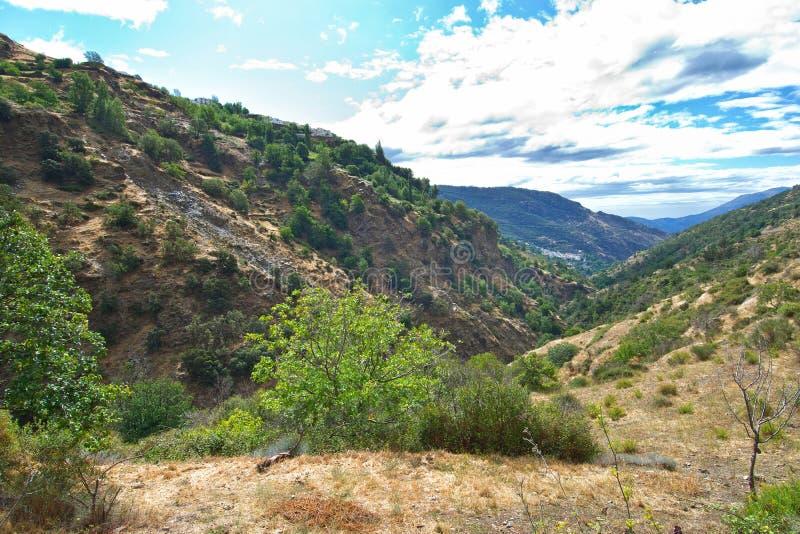 Randonnée dans l'Alpujarra photos stock