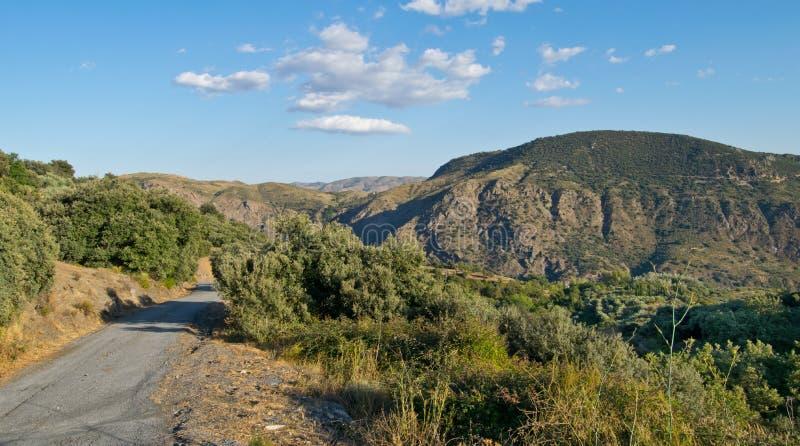 Randonnée dans l'Alpujarra photographie stock libre de droits