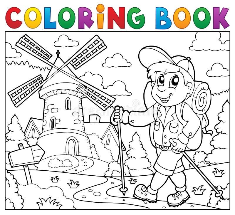 Coloriage Piste Cirque.Theme 2 De Chef De Piste De Cirque De Livre De Coloriage