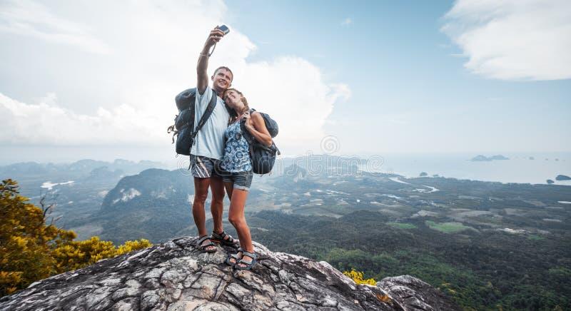randonneurs photographie stock libre de droits