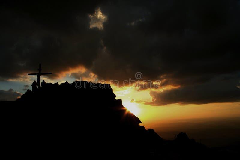 Ranek gwiazda Serra da Piedade zdjęcia stock
