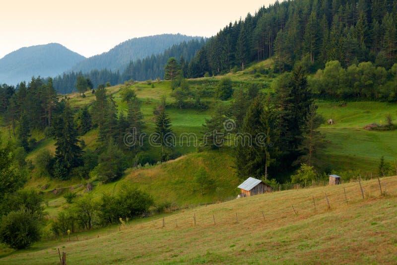 ranek halny rhodope lato zdjęcie royalty free