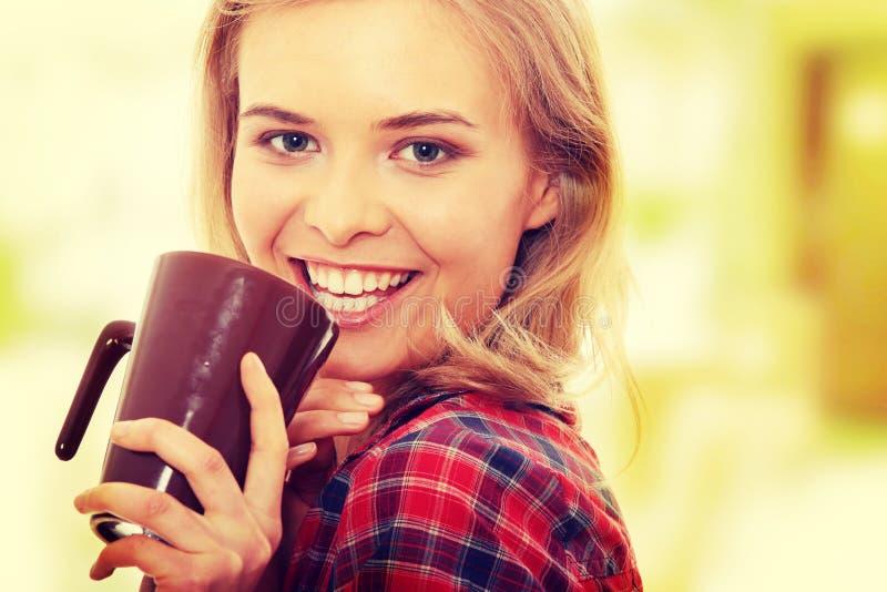 Ranek herbata lub kawa obrazy stock