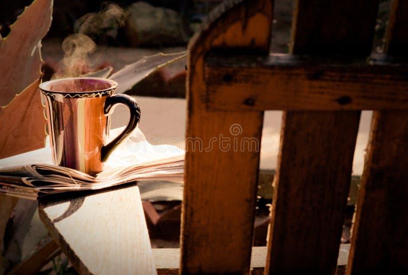 Ranek kawa zdjęcia stock