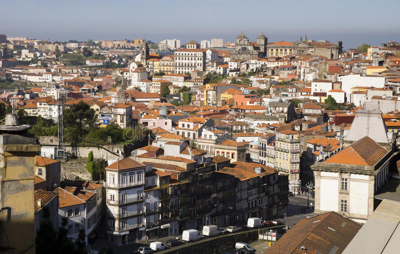 Ranek Porto Portugalia obrazy royalty free