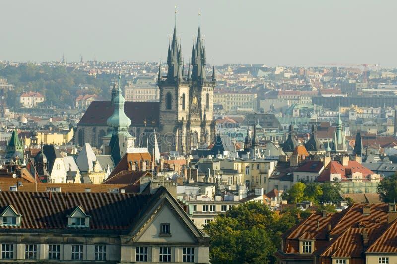 ranek Prague zdjęcie royalty free