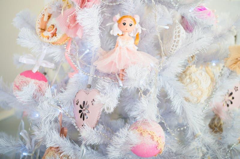 Ranek przed Xmas Nowego Roku wakacje szczęśliwego nowego roku, wesoło szczęśliwi Boże Narodzenie wakacje Boże Narodzenia piękne fotografia stock