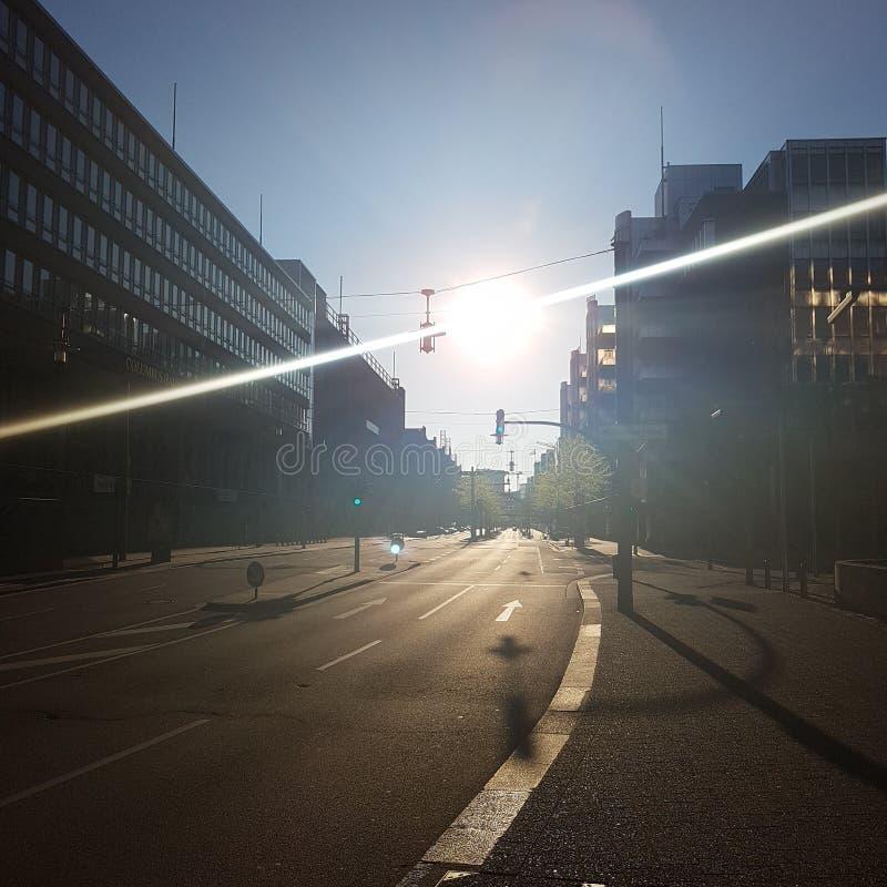 Ranek Słońce obraz stock