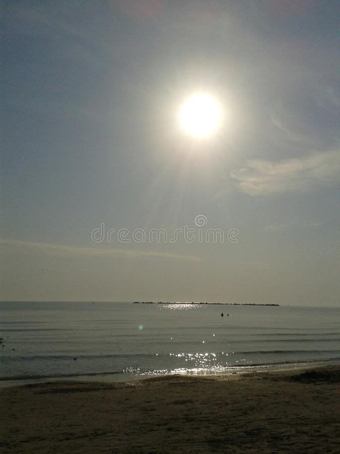 Ranek Słońce zdjęcia stock