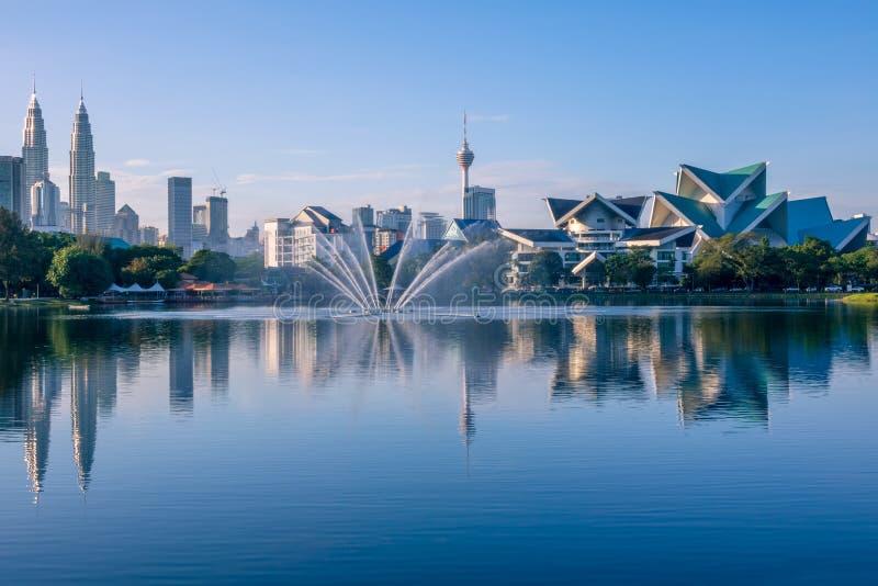 Ranek w Kuala Lumpur fotografia stock