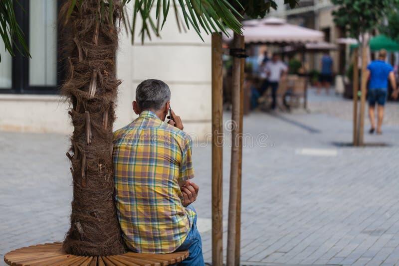 Ranek w mieście, puste ulicy obraz royalty free