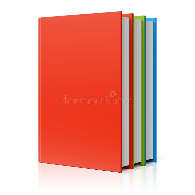 Rangée de livres illustration stock