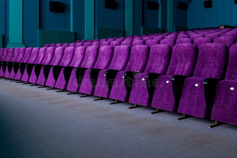 Rangées des sièges confortables photographie stock