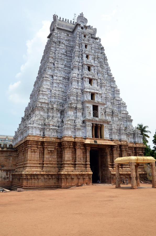 ranganathaswamy sri寺庙 库存图片