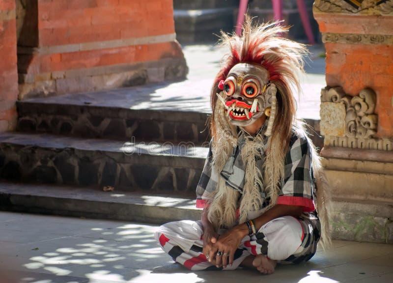 Rangda da dança de Barong fotografia de stock