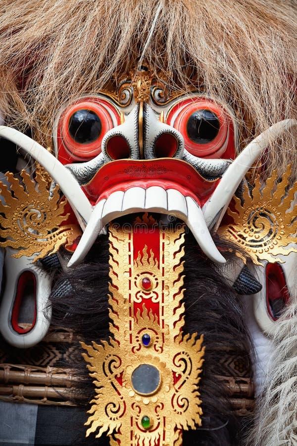 Rangda spirit - demon queen of Bali island royalty free stock image