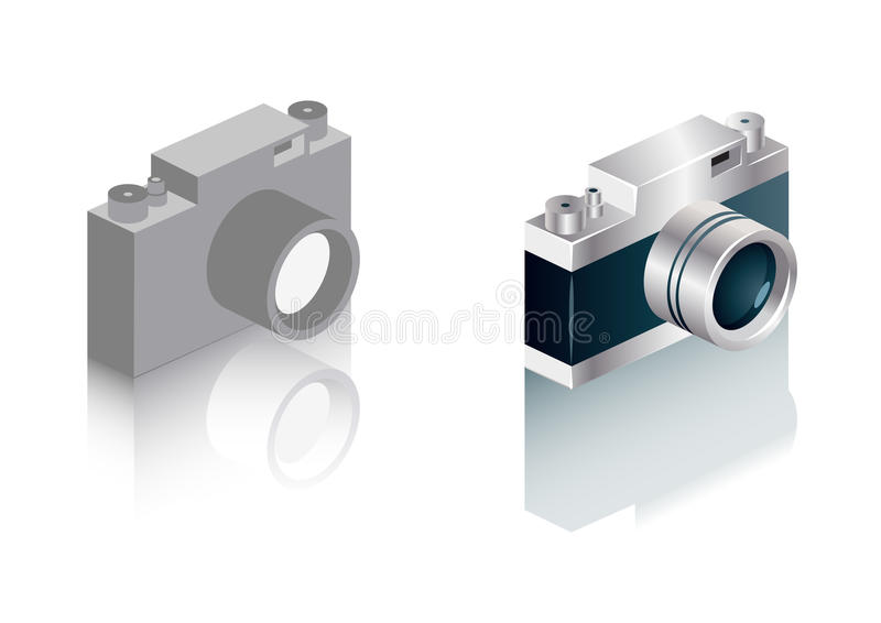Download Range finder camera icons stock illustration. Illustration of optics - 14740367