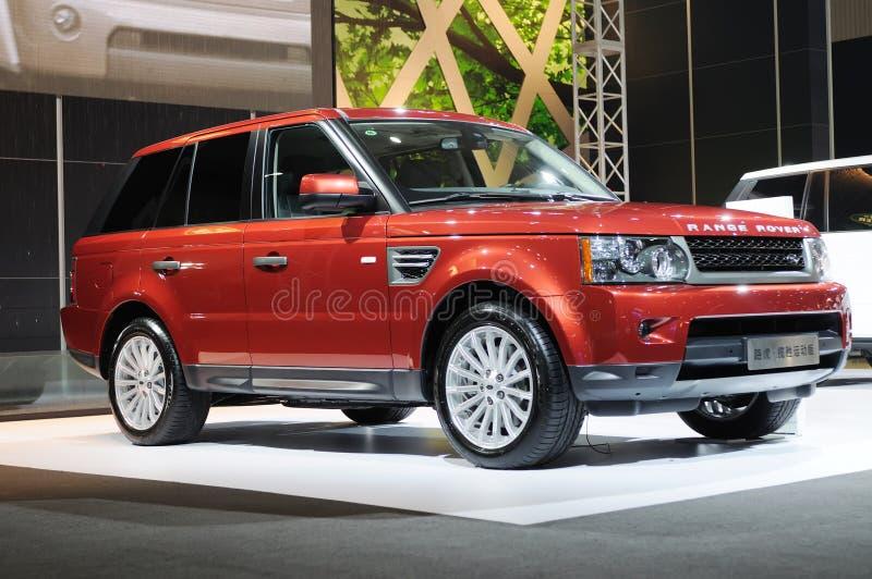 Range Rover images libres de droits