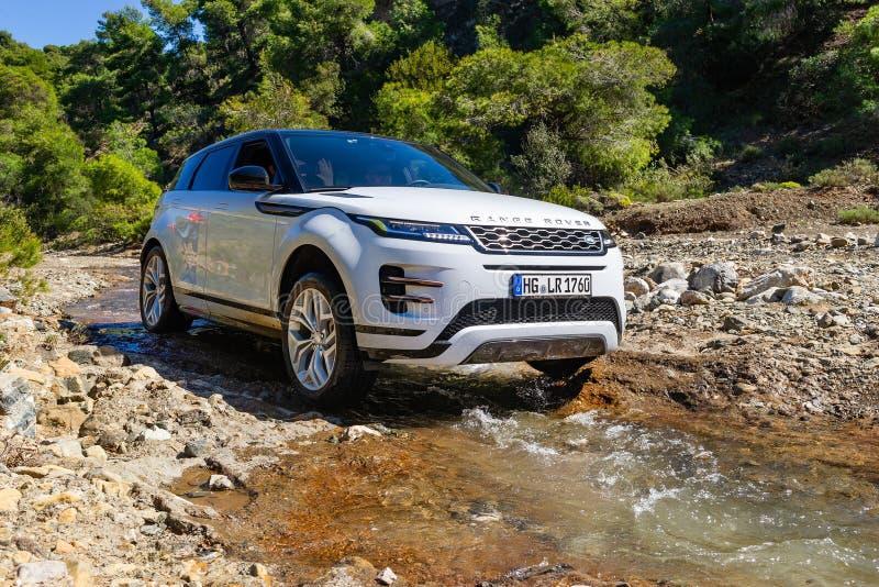Range Rover Etch images libres de droits