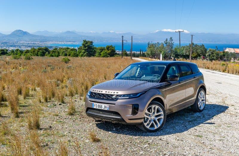 Range Rover Etch photos stock