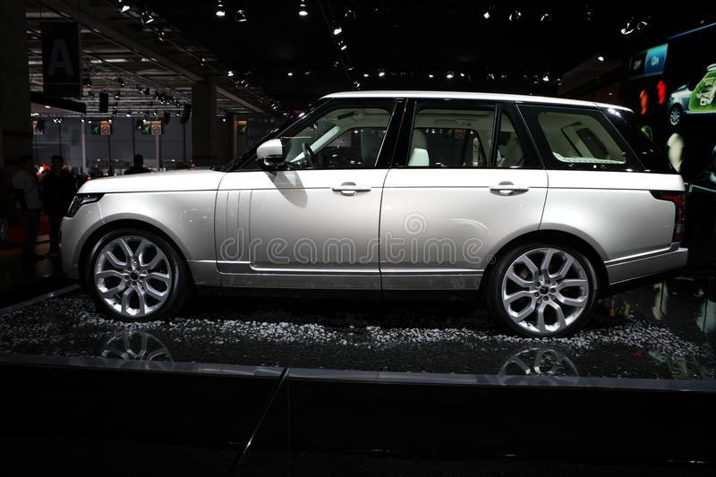 Download Range Rover - Land Rover editorial image. Image of display - 26877595
