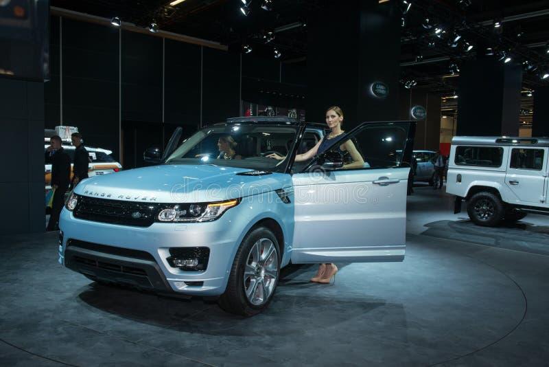 Range Rover sporta nowe pokolenie zdjęcie stock