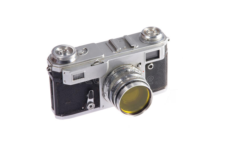 Download Rangefinder camera stock photo. Image of macro, image - 17065522
