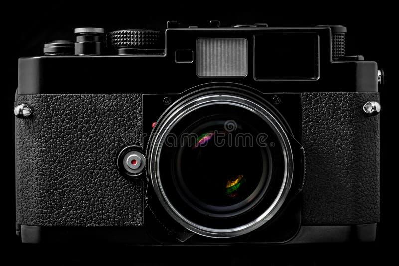 Download Rangefinder Camera stock image. Image of textured, retro - 30106417