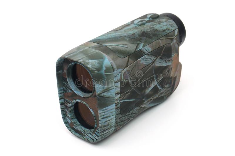 Rangefinder para golfing e caçar fotos de stock royalty free