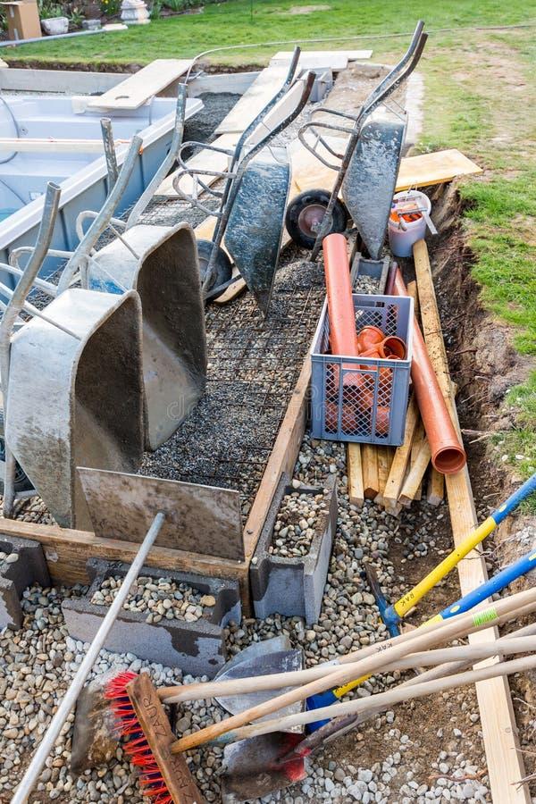Rangement du chantier de construction image stock image for Chantiers de construction