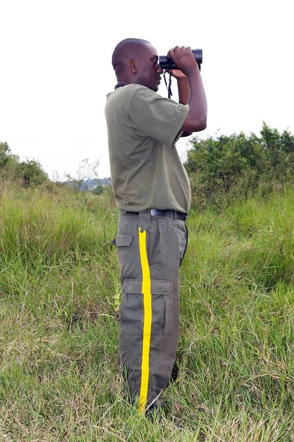 Ranger in the Akagera National Park