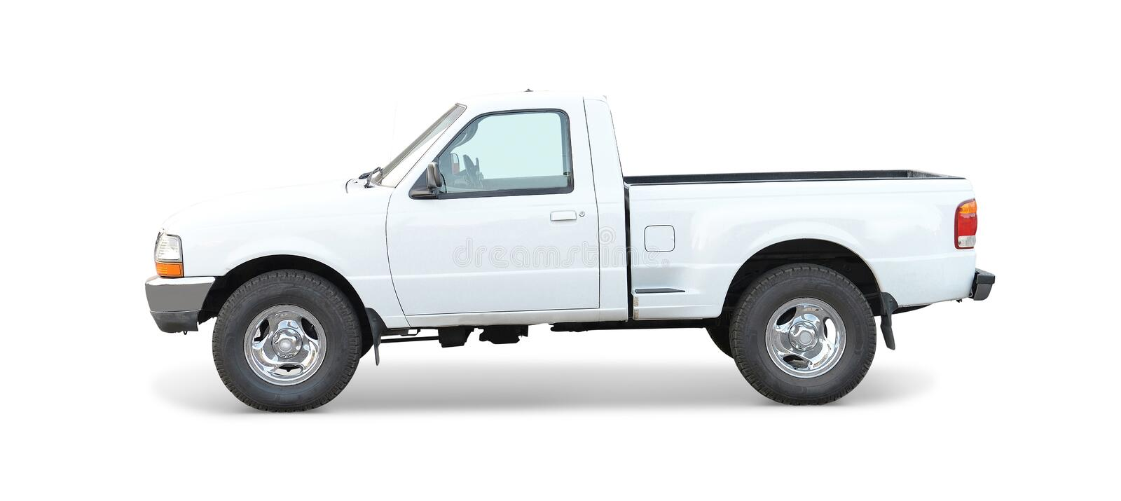 Ranger Pickup Truck. A pickup truck on white royalty free stock photography