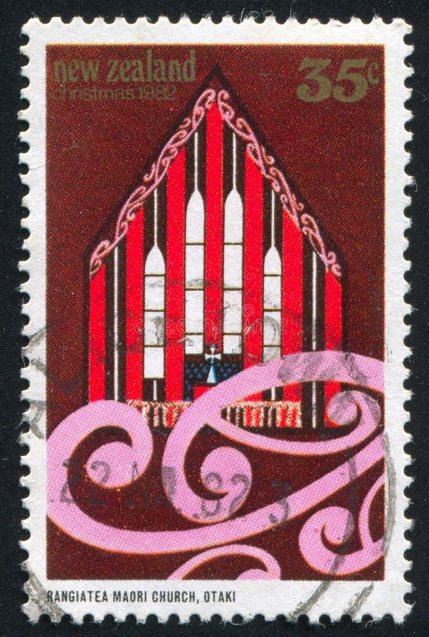 Rangiatea Maoryjski kościół w Otaki obraz stock