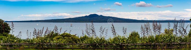 Rangitoto ö, Auckland Nya Zeeland royaltyfria bilder