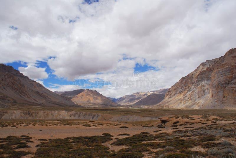 Rango de Himalaya fotografía de archivo