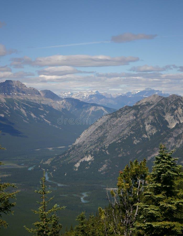Rango de montaña foto de archivo libre de regalías