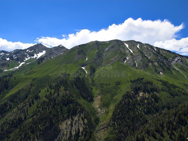 Rango de montaña de Utah imagen de archivo
