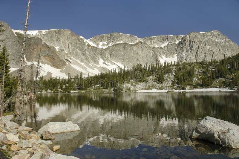 Rango Wyoming Nevado fotografía de archivo libre de regalías