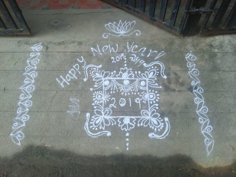 Rangoli стоковые изображения rf
