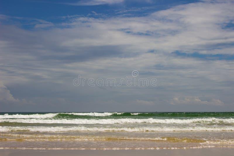 Ranh de la leva de Bai Dai de la playa fotografía de archivo libre de regalías