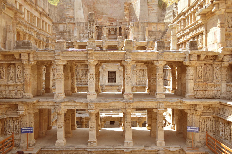 Ranien ki vav, patan, Gujarat stock foto